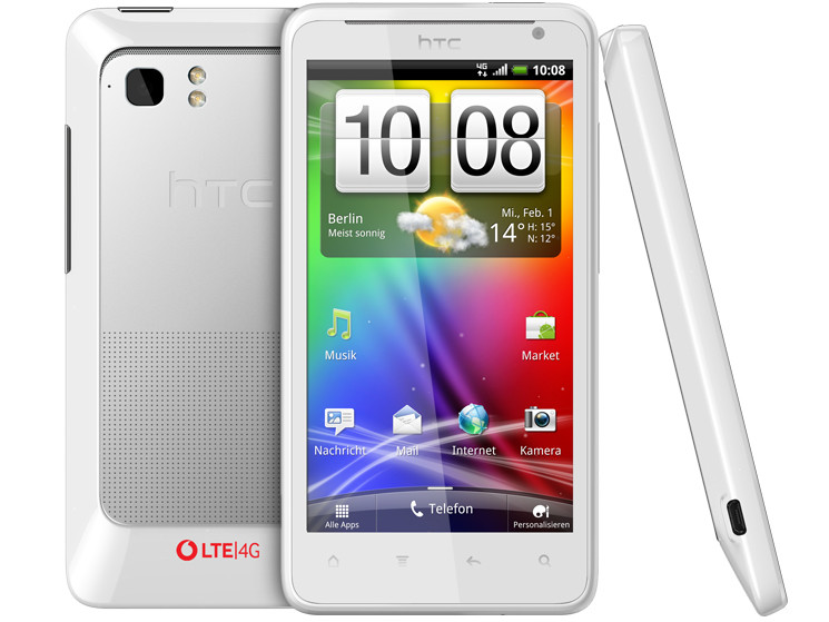 4G Android HTC LTE Velocity