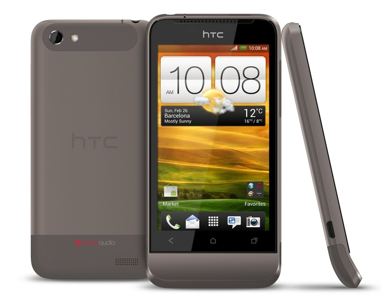 Android HTC ICS mwc2012 one v