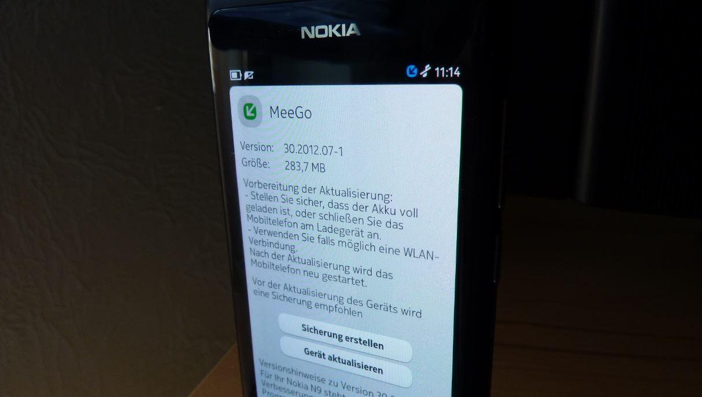 MeeGo n9 Nokia Update