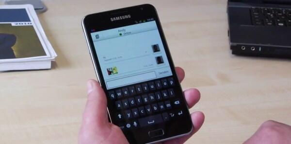 dienste IM joyn Messenger o2 SMS Telekom Vodafone whatsapp