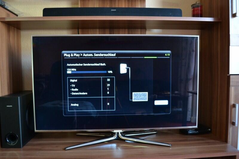 samsung ue46d8090 3d led tv im praxistest. Black Bedroom Furniture Sets. Home Design Ideas