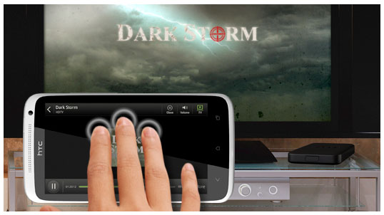 Android dlna HTC Media Link HD streaming