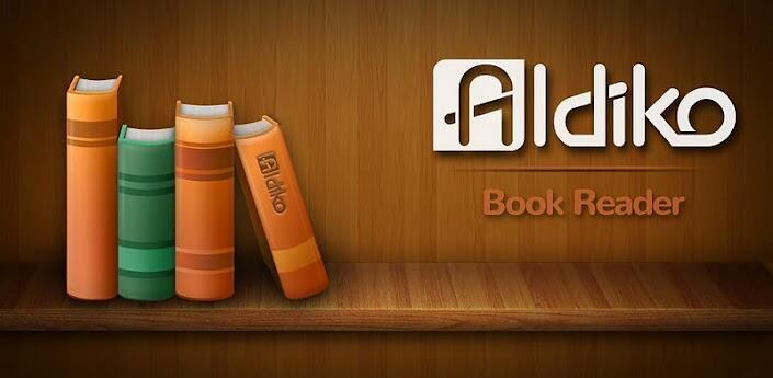aldiko Android app e-book ICS import PDF reader Update