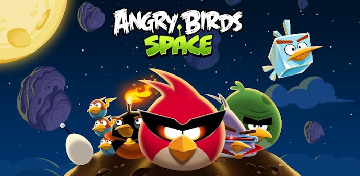 Angry Birds Apple iOS iPad iphone space