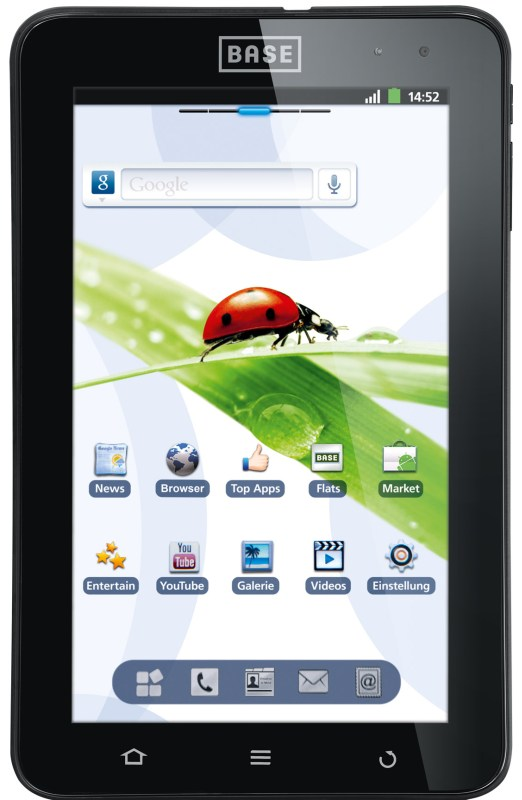 7.1 Android base E-Plus lutea tab tablet