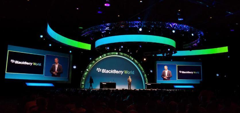 2012 BlackBerry-Apps entwickler event rim world