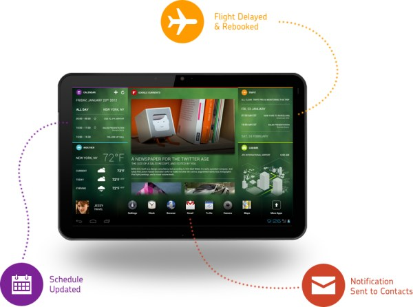 Android Chameleon demo Devs & Geeks os tablet UI