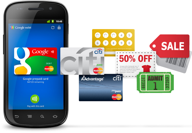 Android Google paypal wallet