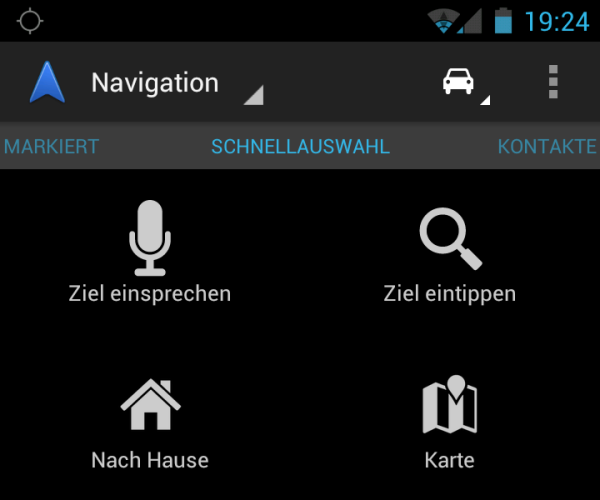 Android app Google karten Maps navi navigation Update
