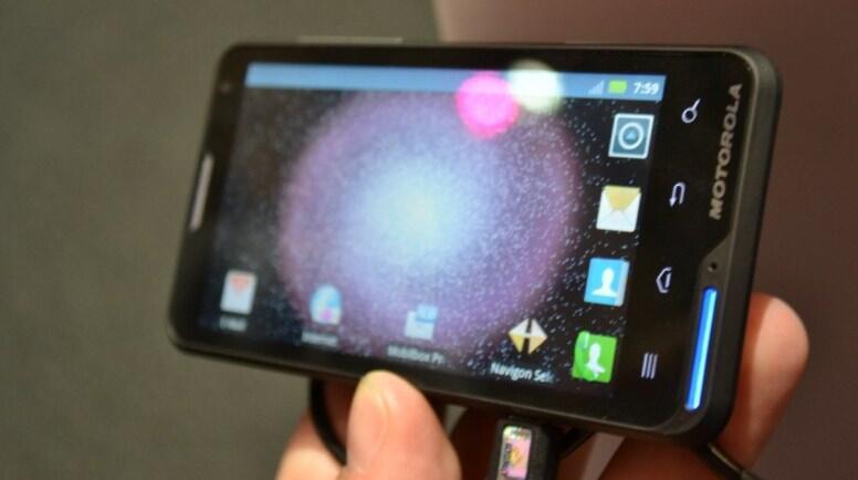 Android cebit2012 Motoluxe Motorola