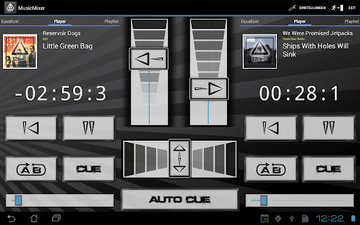 Android app Musik player sound