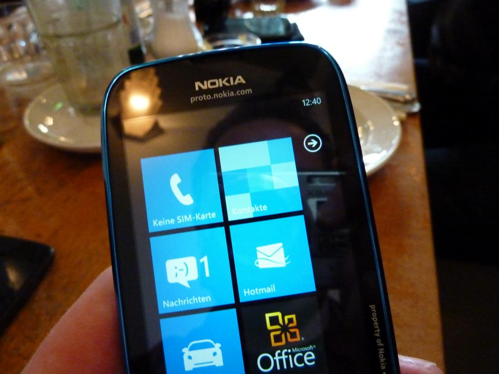 event lumia 610 Nokia Windows Phone