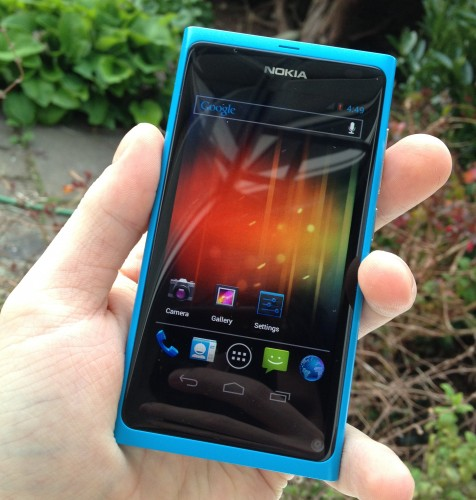 Android CustomRom MeeGo modding n9 Nokia port