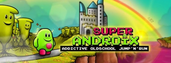 Android fun Game jump and run Retro