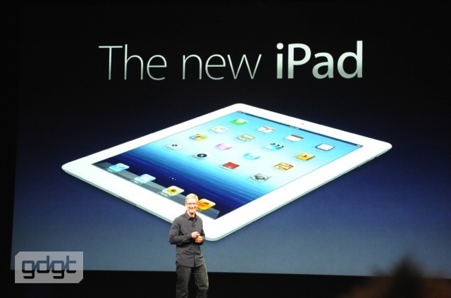 Apple iOS iPad retina