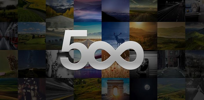 500px Android app Community Fotos play store tipp