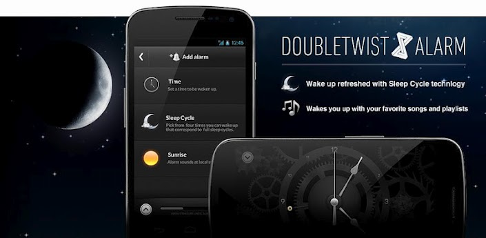 alarm clock Android doubletwist play store