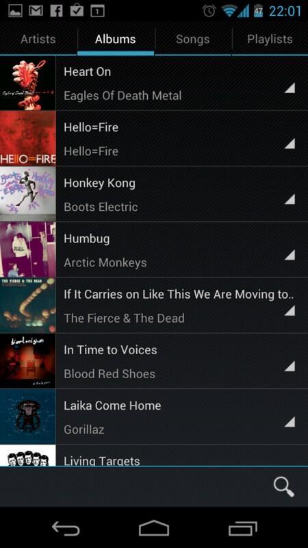 Android app ICS music Musik player xda