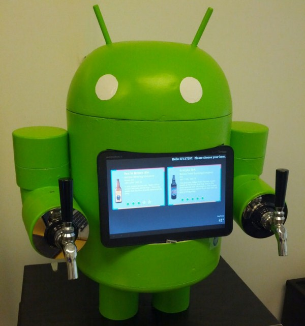 Android Bier diy fun sommer