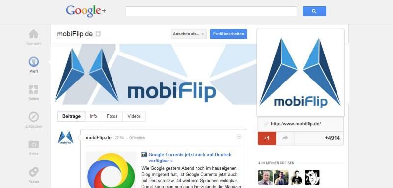 chrome design dienste Google layout social webseite
