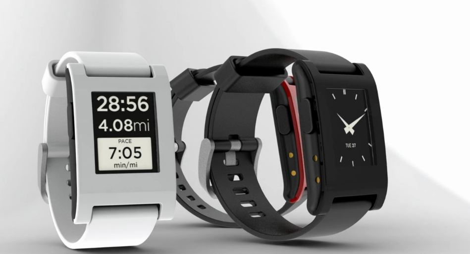 Android Bluetooth kickstarter Pebble smartwatch Uhr