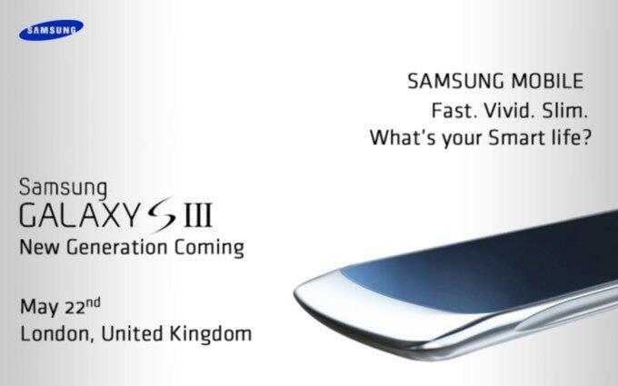 Android bolide Flaggschiff galaxy s3 Leak london Samsung