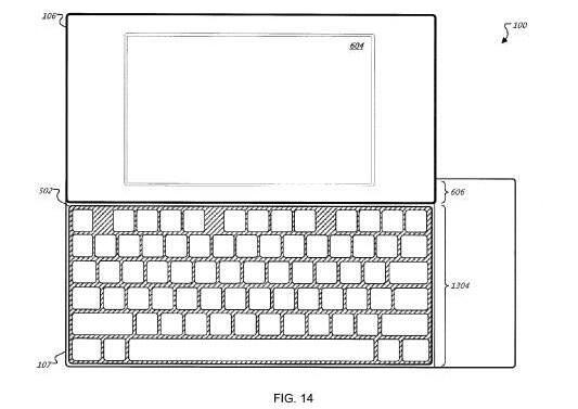 Android Google Patent QWERTZ Slider Smartphone