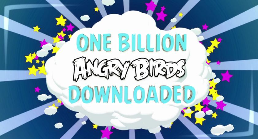 1 milliarde Android Angry Birds downloads iOS rovio