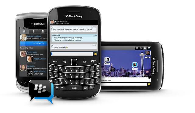 BBM BlackBerry Messenger BlackBerry-Apps rim