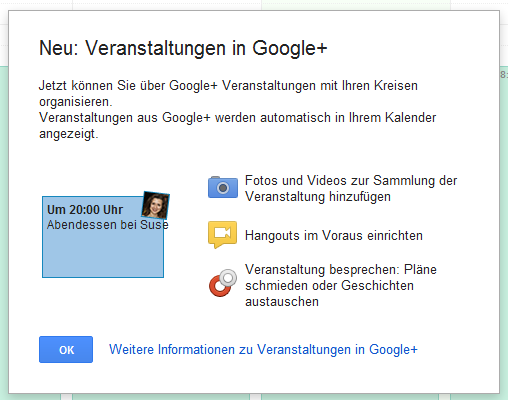 events Google google pols kreise Netzwerk social veranstaltungen