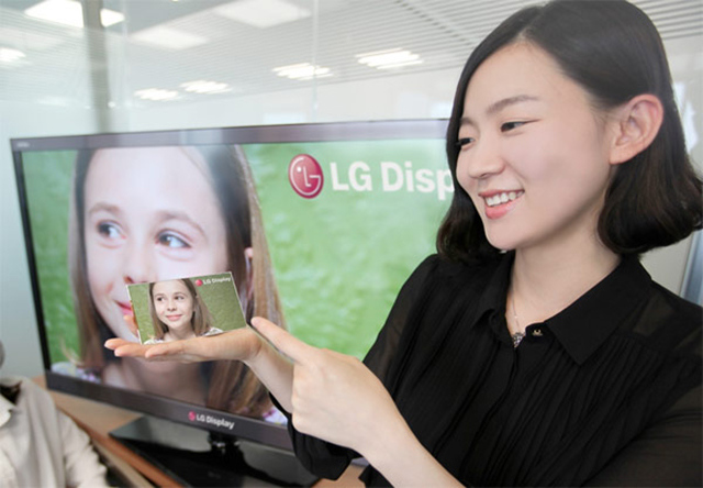 1080p Android Display LG retina