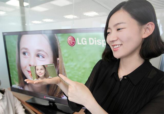 1080p 440 ppi Android Display LG retina