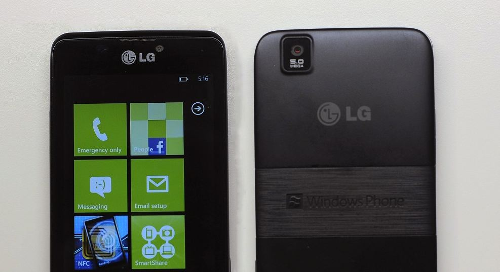 Android fantasy LG markt microsoft Nokia prototyp Windows Phone
