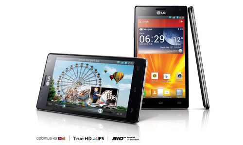 Android datum deutschland LG Optimus 4X HD Smartphone