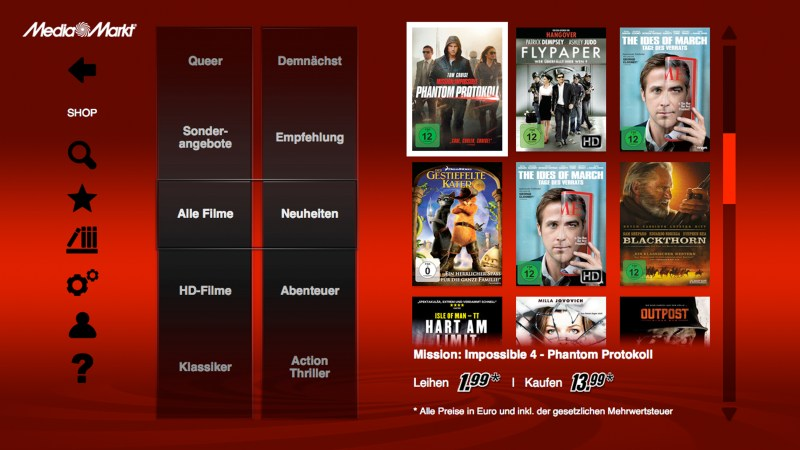 media markt Settopbox streaming TV