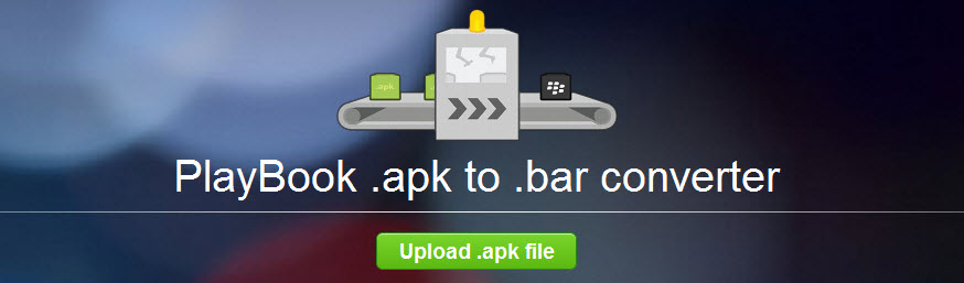 Android Apps BlackBerry-Apps playbook