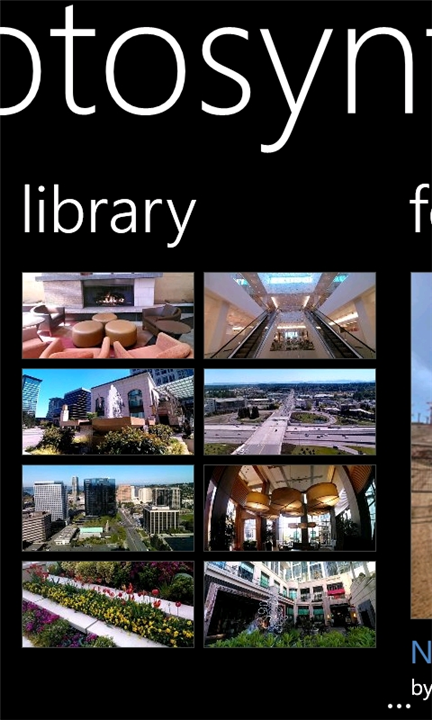 download photosynth Windows Phone