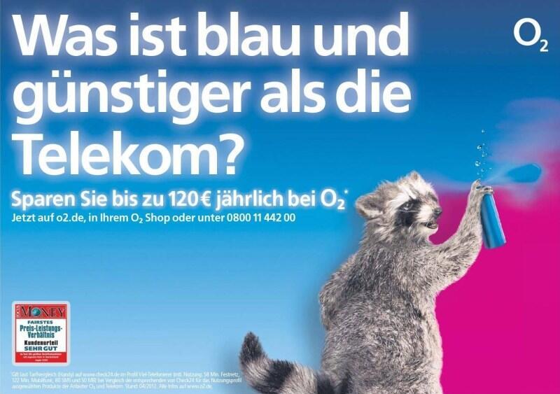o2 Telekom Vodafone werbung