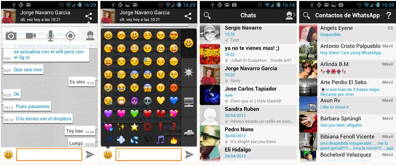 Android holo mod whatsapp