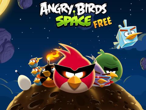 angry birds space app games iOS iPad iphone