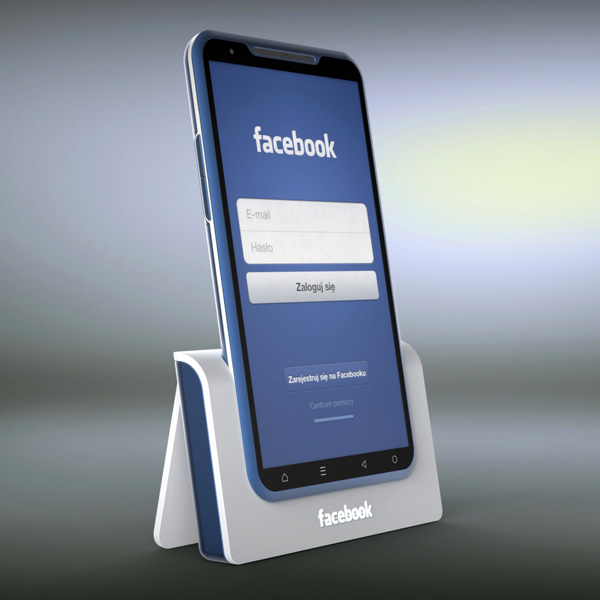 Android facebook Konzept