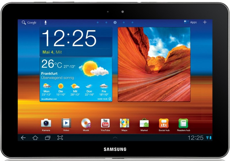 Android Samsung tablet