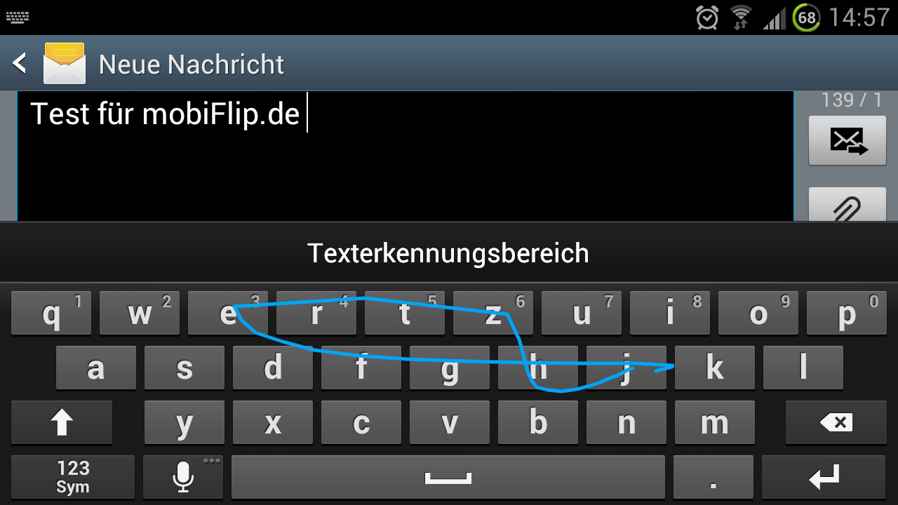 android how to clear swype