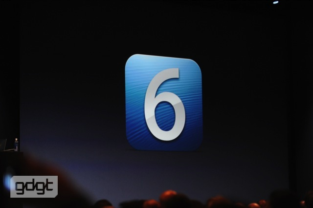 6 Apple beta iOS iPad iphone keynote wwdc 2012