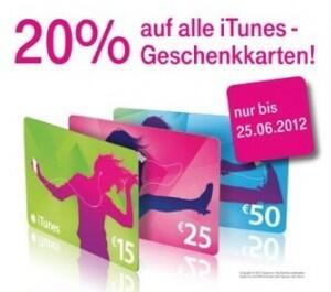 angebot Apple iOS iPad iphone itunes rabatt Telekom