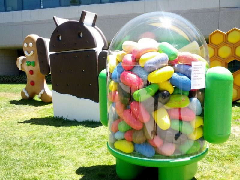 Android Android 4.3 Google Jelly Bean leaks Update