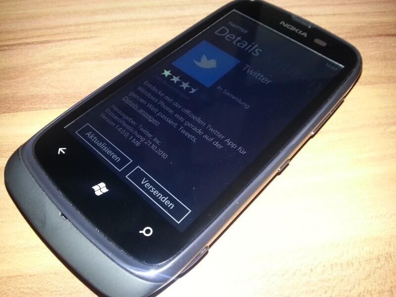Lumia Nokia social twitter Update Windows Phone wp