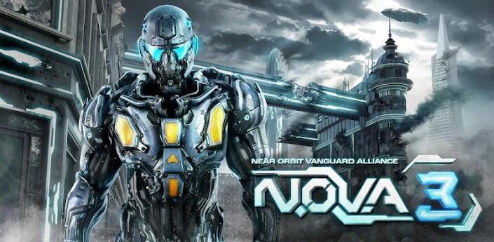 Android gameloft games nova 3
