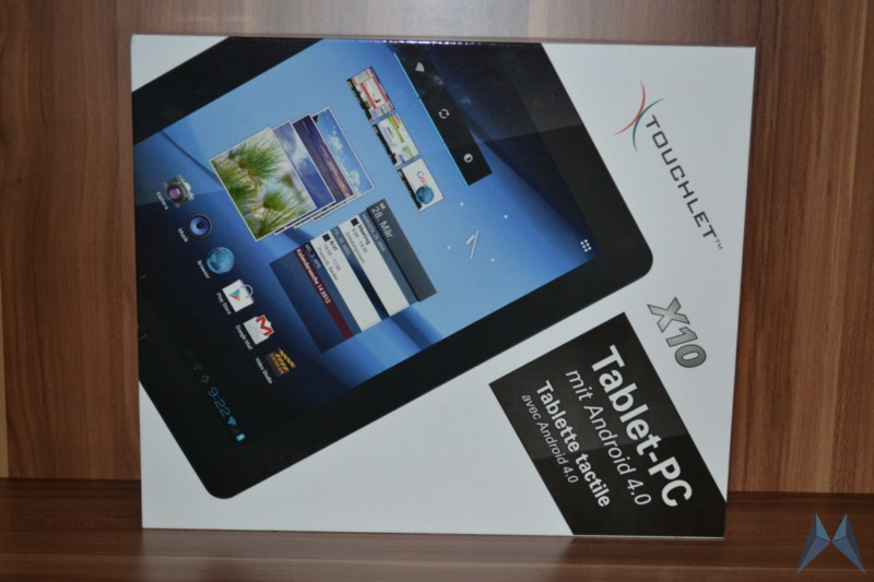 Android Pearl tablet touchlet x10