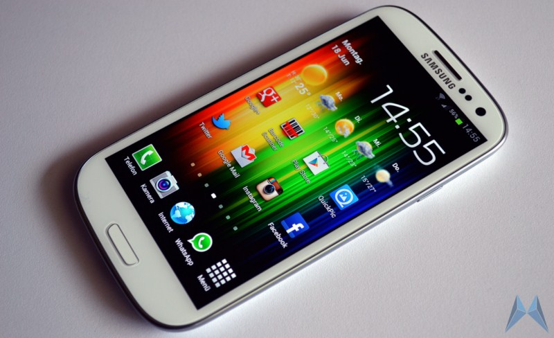 Android galaxy s3 review Samsung test Testbericht